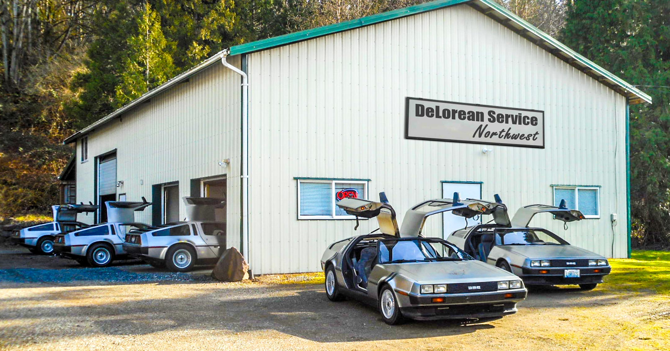 DeLorean Service Northwest